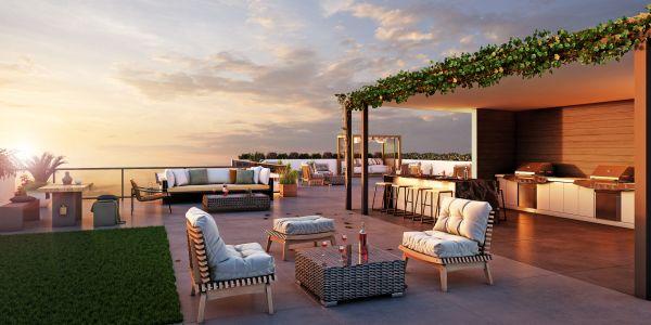 Apartment Sky Deck